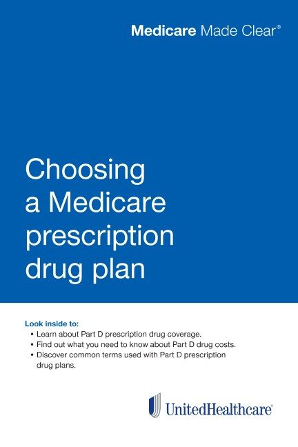 Choosing a Medicare prescription drug plan